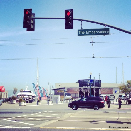 The Embarcadero is the waterfront and roadway of the Port of San Francisco,California