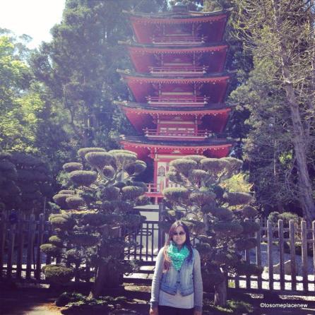 The Japanese Tea Garden in San Francisco, California, is a popular feature of Golden Gate Park
