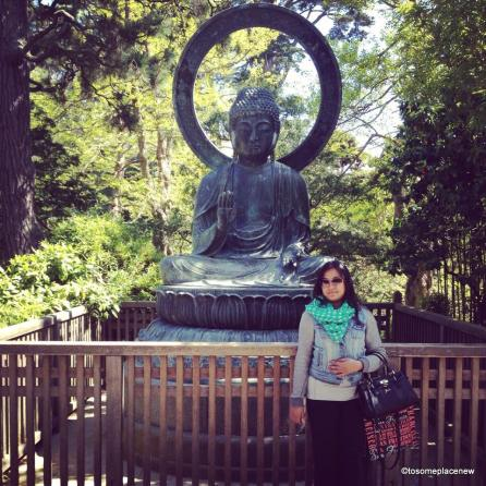 The Japanese Tea Garden in San Francisco, California