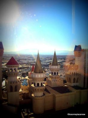 View from Room Excalibur Hotel