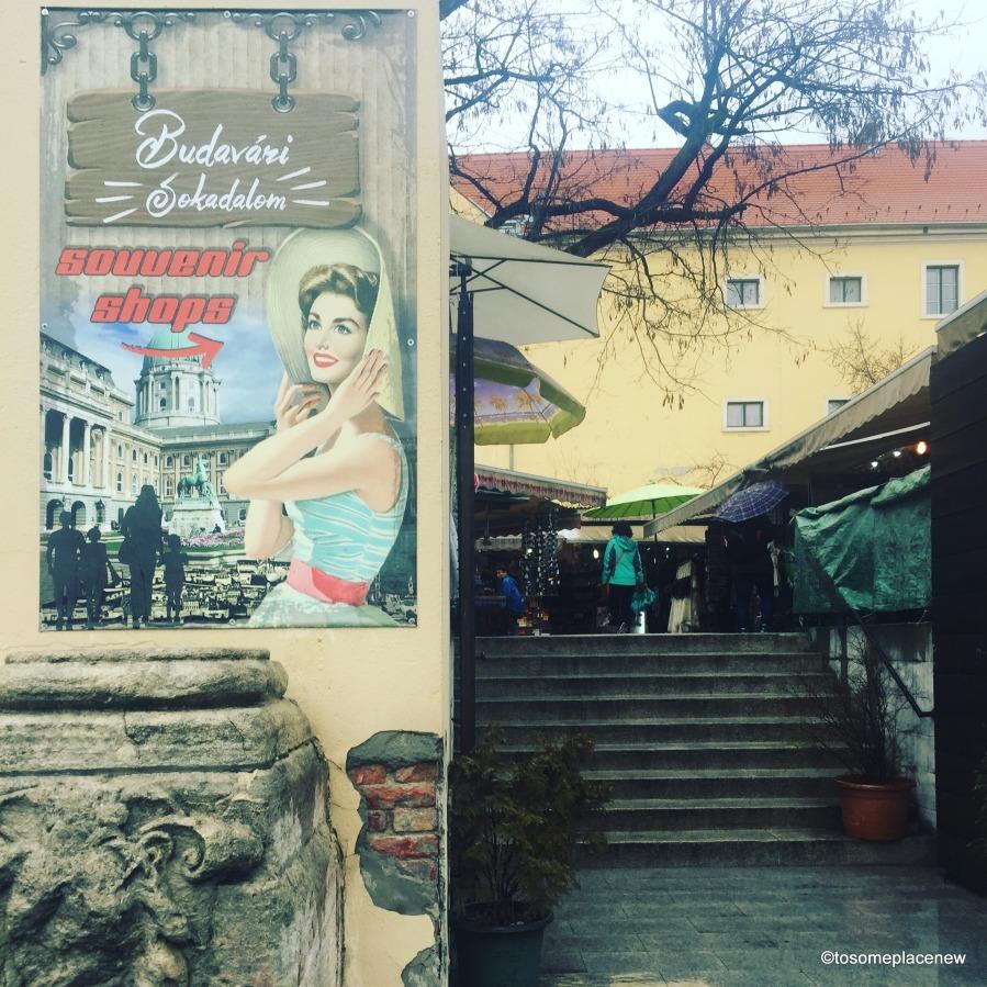 Budapest- Souvenir Shops - Buda Castle District