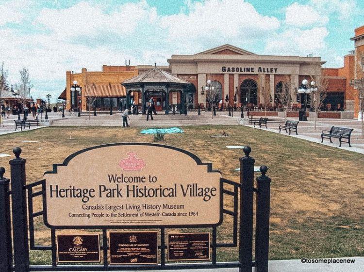 Heritage Park, Calgary